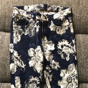 7 Jeans Flowers printed